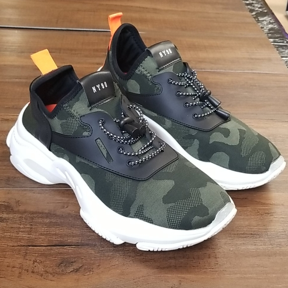 Womens Myles Knit Chunky Sneakers